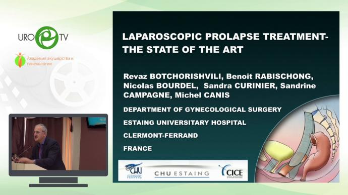 Laparascopic prolapse treatment