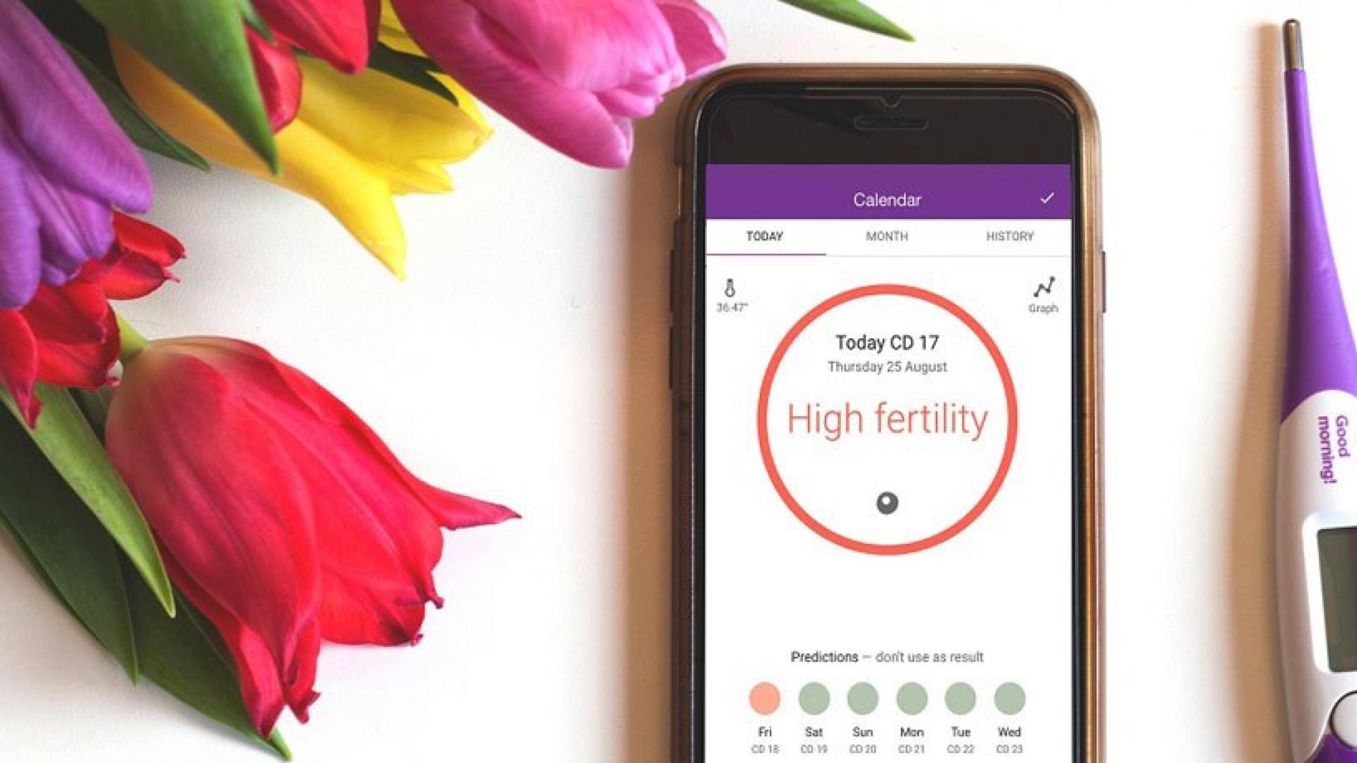 Приложение, которое уже помогло 5000 женщинам забеременеть